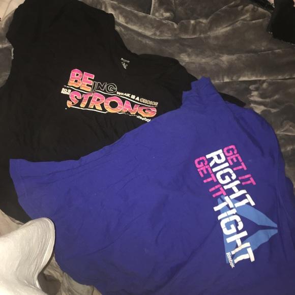 Reebok Tops - Two Reebok T-shirts